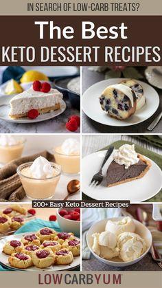 Dessert Recipes, Keto Dessert Easy, Real Food Recipes, Low Card Desserts, Keto Desserts, Ketogenic Recipes, Low Carb Recipes, Treats, Fodmap Baking