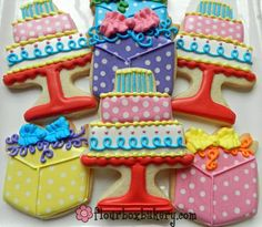 Flour Box Bakery — How to Decorate a Birthday Cake Cookie