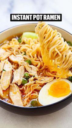 Ramen Recipes, Asian Recipes, Chicken Recipes, Cooking Recipes, Healthy Recipes, Ethnic Recipes, Potato Recipes, Fall Recipes, Delicious Recipes