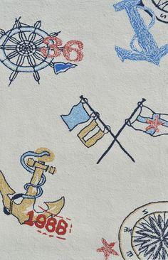 Nautical Icons Rug