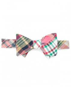 Brooks Brothers » Madras patch bow tie