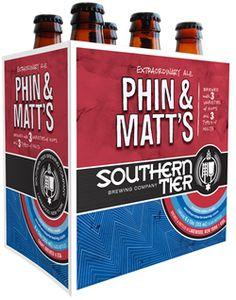 Cerveja Southern Tier Phin & Matt's, estilo American Pale Ale, produzida por Southerntier Brewing, Estados Unidos. 5.7% ABV de álcool.