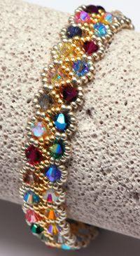 Skinny bracelet color -- blues