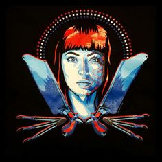 American Mary T-shirt (Katharine Isabelle) - to debut at Texas Frightmare Weekend!