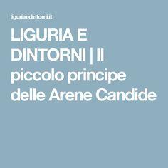 LIGURIA E DINTORNI | Il piccolo principe delle Arene Candide