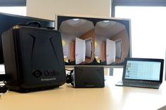 Architektur VR-Brille Oculus Rift