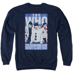 "Checkout our #LicensedGear products FREE SHIPPING + 10% OFF Coupon Code ""Official"" The Who / Goldhawk Poster-adult Crewneck Sweatshirt - The Who / Goldhawk Poster-adult Crewneck Sweatshirt - Price: $39.99. Buy now at https://officiallylicensedgear.com/the-who-goldhawk-poster-adult-crewneck-sweatshirt"