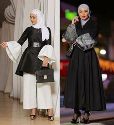 مدونة الفاشن الكويتية #مرمر The kuwaiti fashion blogger @mrmr__4 ... Uni Outfits, Cute Lazy Outfits, Pretty Outfits, Fashion Outfits, Modesty Fashion, Abaya Fashion, Islamic Fashion, Muslim Fashion, Middle Eastern Clothing