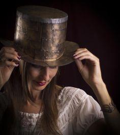 Steampunk Tutorial sombrero de copa