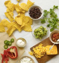 Image result for nachos ingredient photography