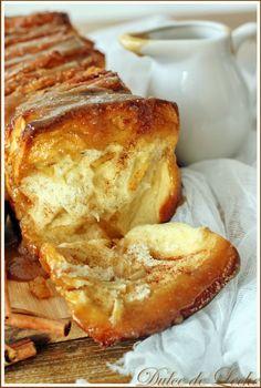 Dulce de Leche: Karamelovo jablkový koláč ( Pull Apart Bread)