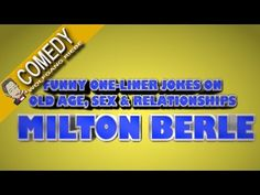 Milton Berle Classic One Liner Jokes - YouTube