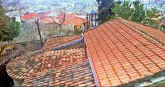 One of the oldest Byzantine churches of Thessaloniki, Ossios David or Moni Latomou overlooks the city from Ano Poli since the century. (Walking Thessaloniki, Route Upper Town c) R 11, Thessaloniki, Byzantine, The Locals, Greek, Old Things, Walking, David, City