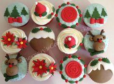 Christmas capcakes