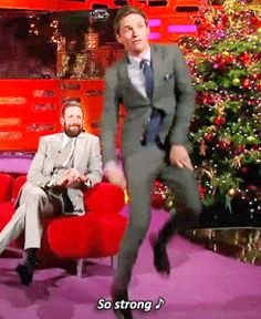 When he showed off his impressive dancing chops.