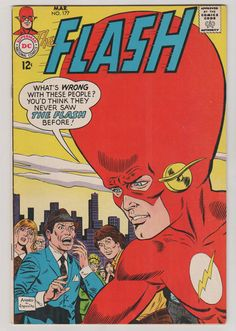 Flash V1 177.  VF. March 1968.  DC Comics by RubbersuitStudios #flash #comicbooks