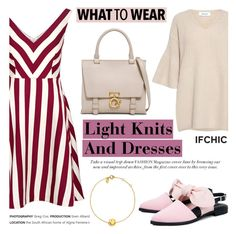 """""""What to Wear: Light Knits And Dresses"""" by ifchic ❤ liked on Polyvore featuring RED Valentino, 10 Crosby Derek Lam, Mother of Pearl, Ruifier and contemporary"""