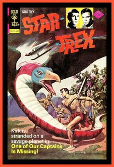 by George Wilson Cover of Star Trek #38 - One Of Our Captains Is Missing!, 1976