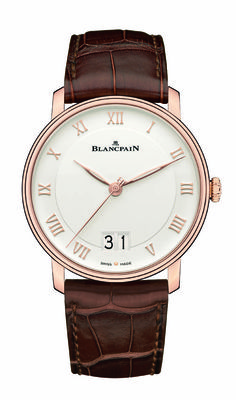 Blancpain Villeret Grand Date soldier 560 - Beautiful Classic Timepiece!