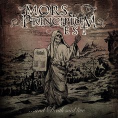 And Death said live - Mors Principium Est Five Year Anniversary, Live Cd, Metal Albums, Live In The Now, World's Biggest, Death Metal, Music Albums, Album Covers, Cool Things To Buy