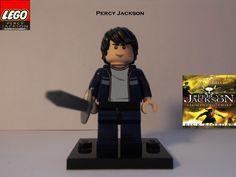 "LEGO Percy Jackson ( Casual) from "" Percy Jackson and the lightning thief "" My creations. Rick riordan for PERCY JACKSON series Percy Jackson Movie, Percy Jackson Fandom, Team Leo, Minecraft Funny, Lego People, Rick Riordan Books, Uncle Rick, Heroes Of Olympus, Olympians"