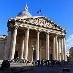 The Pantheon Paris located in the Latin Quarter #tourism #Paris #travel #pfw #aroundtheworld #France #moalmada