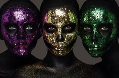 #DayOfTheDead may be well & truly over but I can't get enough of the Momento Mori #beauty story by Rankin. Gorgeous.