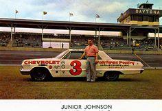 #3 Junior Johnson