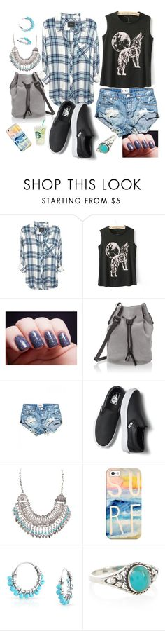 """Untitled #121"" by bubbles6706 ❤ liked on Polyvore featuring Halston Heritage, One Teaspoon, Vans, Ruby Rocks, Casetify, Bling Jewelry and Accessorize"