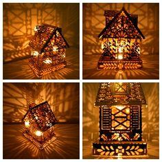 Magic House Vintage Shadow Lamp. $65.00, via Etsy.