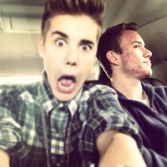 Who do we got to the right of me - @justinbieber- #webstagram
