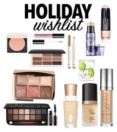Makeup wishlist by valepifi on Polyvore featuring bellezza, Hourglass Cosmetics, Smashbox, Charlotte Tilbury, Urban Decay, Too Faced Cosmetics, H&M and beautyblender