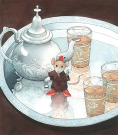 """Reginald was curious as to why she requested a third cup of chai this afternoon.  They hardly ever had any visitors, and never for tea.  """"Whom are we expecting to join us today, ma'am?"""""""