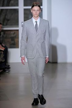 Jill Sander suit.
