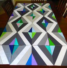 Prism quilt along
