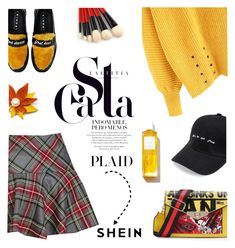 """Check It: Plaid"" by lacas ❤ liked on Polyvore featuring Joshua's, Rodin and plaid"