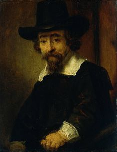 "Rembrandt: ""Dr. Ephraim Bueno, Jewish Physician and Writer"", 1647"