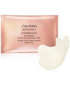Shiseido Benefiance WrinkleResist24 Pure Retinol Express Smoothing Eye Mask - 12 Pk. #VaselineEyelashes
