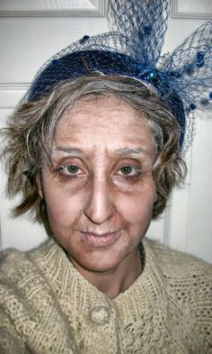 Old Age Makeup. With a little makeup we can turn a guy in his 20s ...