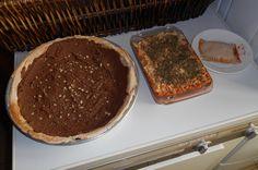 Tarte à la mousse au chocolat, lasagnes et raviole végétaliennes / Vegan chocolate mousse pie, lasagnes and ravioli 2014-01-19
