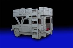 Land Rover 90 Safari/Military Bunk Bed by Fun Furniture Collection