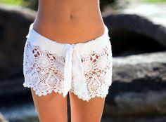 Sweet crocheted skirt!