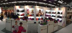 The Mywalit stand at the ENK International Fashion Trade show in New York, January 2013.. beautiful!
