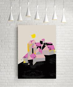 Art print graphic print graphic art graphic art print