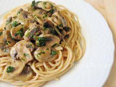 Bors&Pepper: Petrezselymes pirított champignon