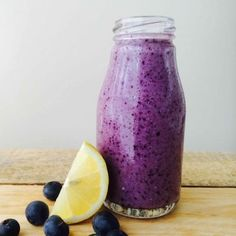 Low FODMAP Blueberry Smoothie