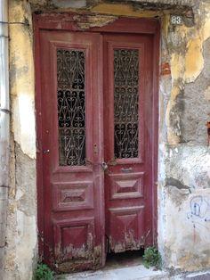Chania old town door