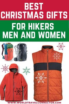 Christmas Gift Guide for Hikers I Best Christmas Gifts for Hikers I Gifts for Hikers Men I Gifts for Hikers For Women I Best Gifts for Hikers I Great Gifts for Hikers I Cool Gifts for Hikers I Unique Gifts for Hikers I Top Gifts for Hikers I Good Gifts for Hikers I Fun Gifts for Hikers I Gifts for Hikers and Campers I Birthday Gifts for Hikers I Best Gifts for Hikers I Hiking Gifts I Hiking Gifts Guide I Gifts for Hikers Ideas I Cute Gifts for Hikers I Small Gifts for Hikers #Hiking… Winter Vacation Packing, Winter Family Vacations, Christmas Vacation, Travel Items, Travel Products, Travel Gifts, Hiking Usa, Best Hiking Shoes, Hiking Quotes