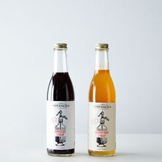 Hibiscus & Grapefruit Soda Syrups on Provisions by Food52