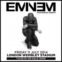 Buy Eminem tickets, Eminem tour details, Eminem reviews | Ticketline   http://www.ticketline.co.uk/eminem#tour
